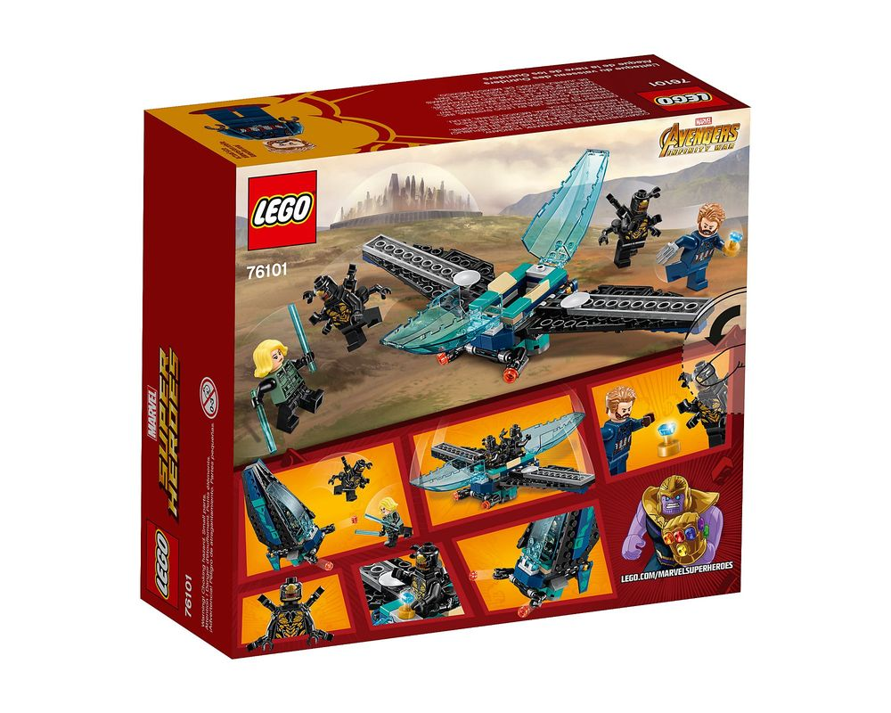 LEGO Set 76101-1 Outrider Dropship Attack