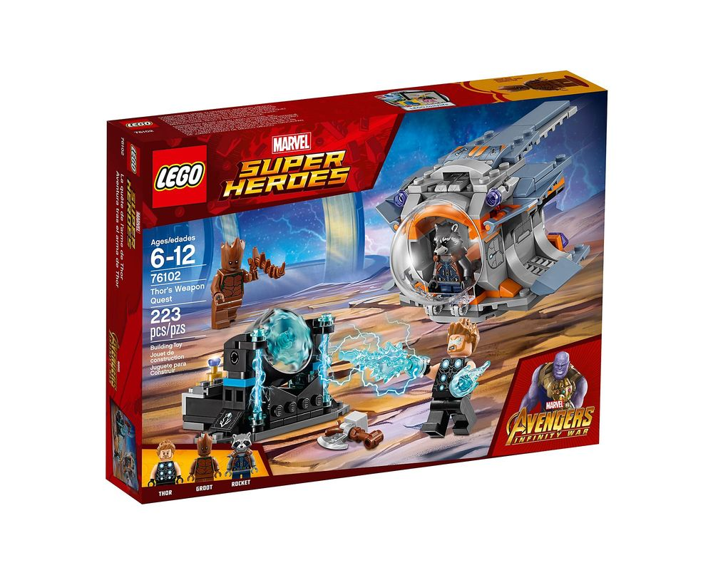 LEGO Set 76102-1 Thor's Weapon Quest