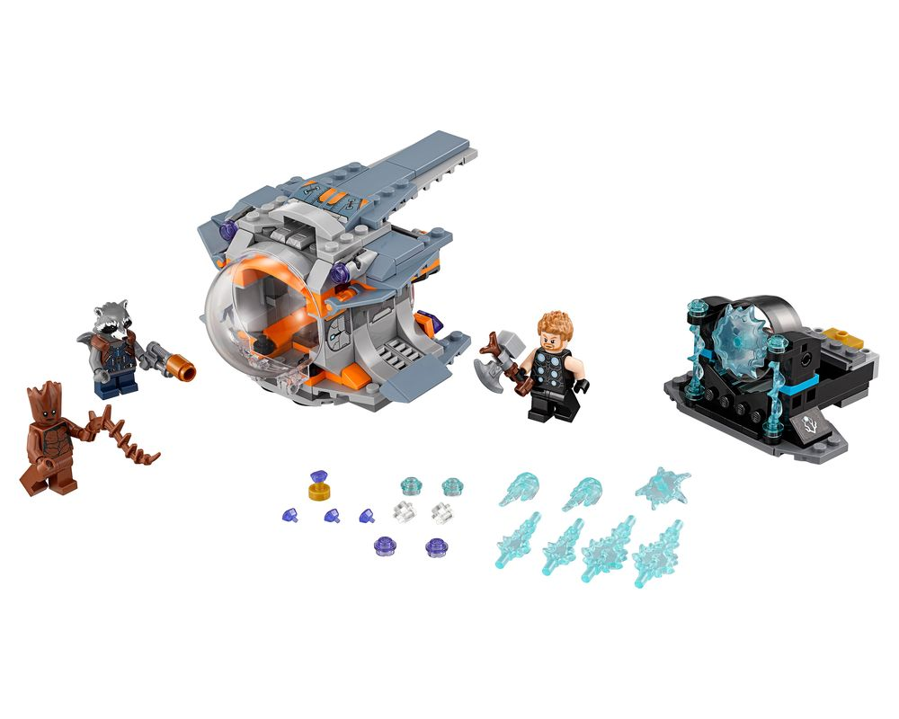 LEGO Set 76102-1 Thor's Weapon Quest (LEGO - Model)