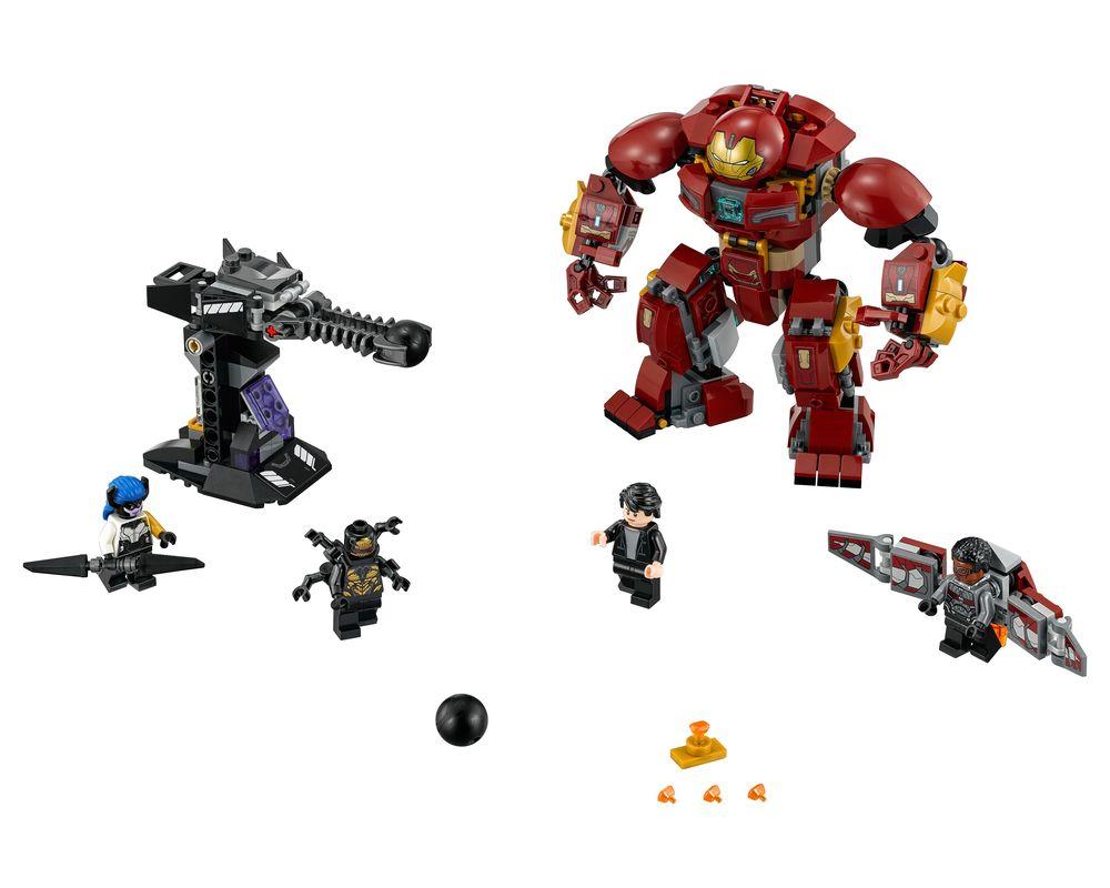 LEGO Set 76104-1 The Hulkbuster Smash-Up (LEGO - Model)