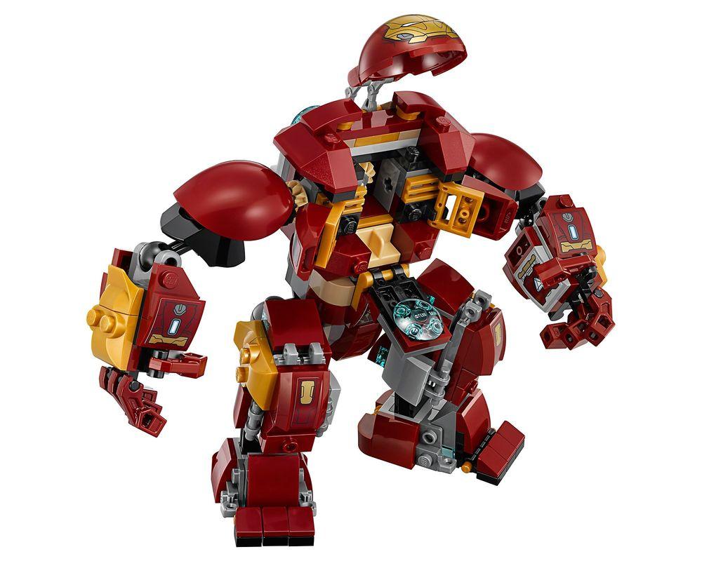 LEGO Set 76104-1 The Hulkbuster Smash-Up