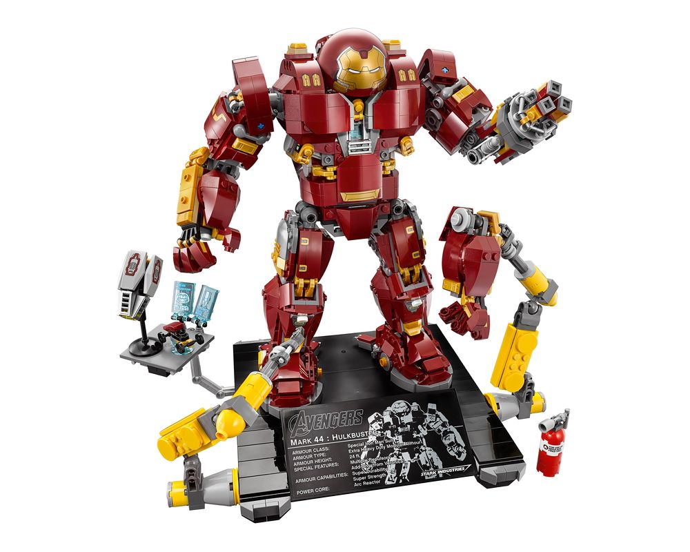 LEGO Set 76105-1 The Hulkbuster: Ultron Edition (Model - A-Model)