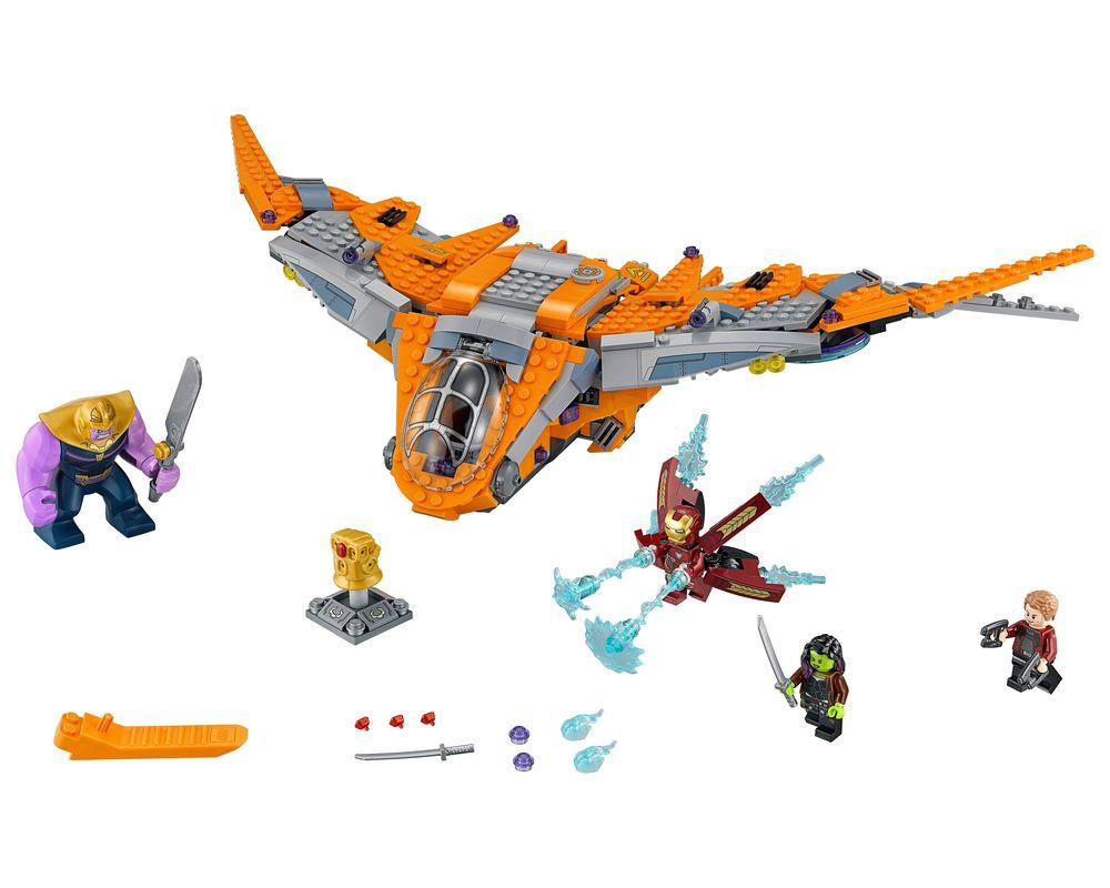 LEGO Set 76107-1 Thanos: Ultimate Battle (LEGO - Model)