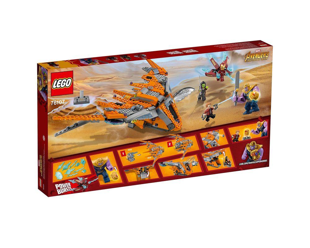 LEGO Set 76107-1 Thanos: Ultimate Battle