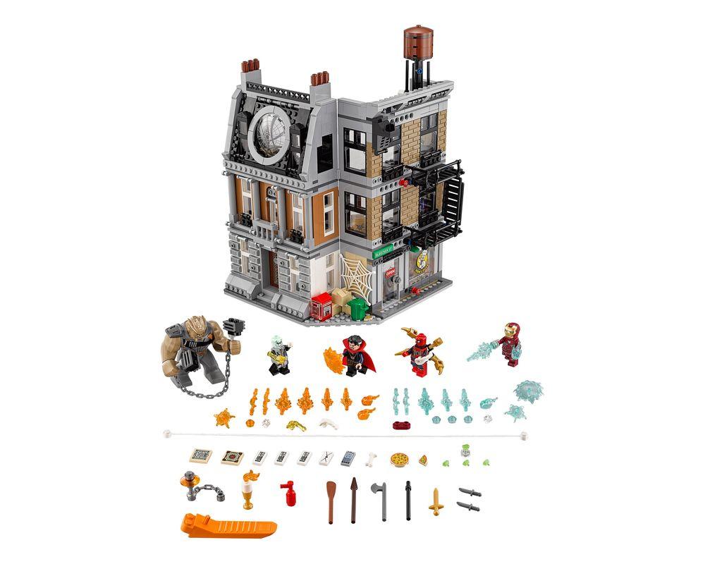 LEGO Set 76108-1 Sanctum Santorum Showdown (LEGO - Model)