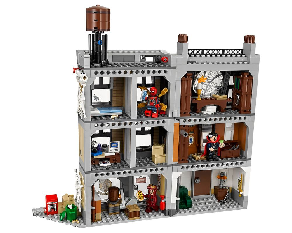 LEGO Set 76108-1 Sanctum Santorum Showdown