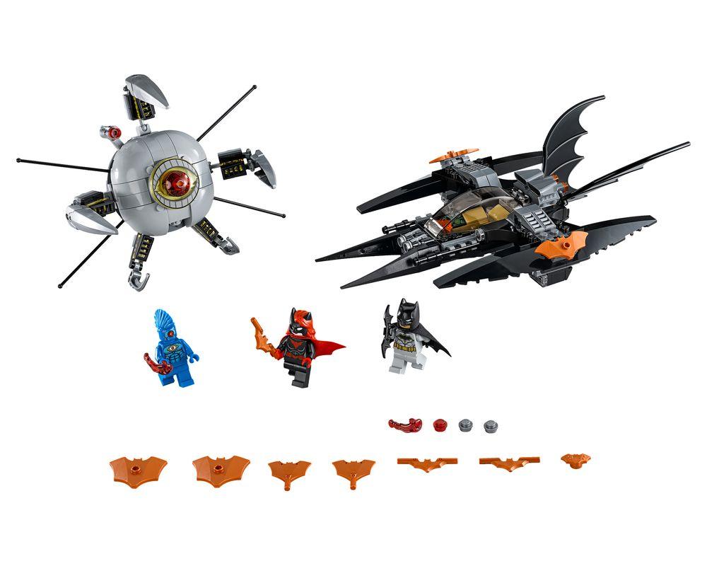LEGO Set 76111-1 Brother Eye Takedown (LEGO - Model)