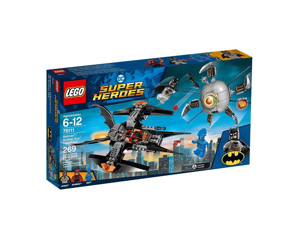LEGO Set 76111-1 Brother Eye Takedown