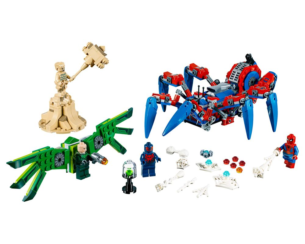 LEGO Set 76114-1 Spider-Man's Spider Crawler (LEGO - Model)