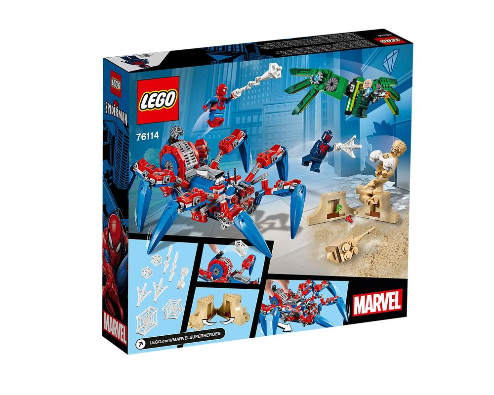LEGO Set 76114-1 Spider-Man's Spider Crawler