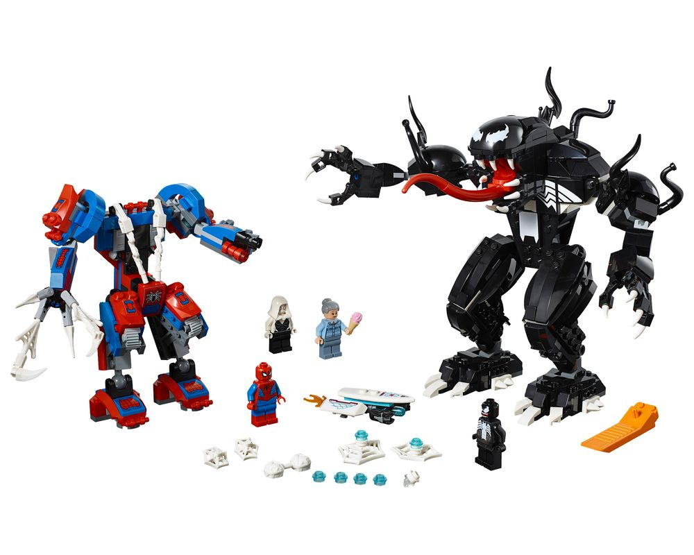 LEGO Set 76115-1 Spider Mech vs. Venom (LEGO - Model)