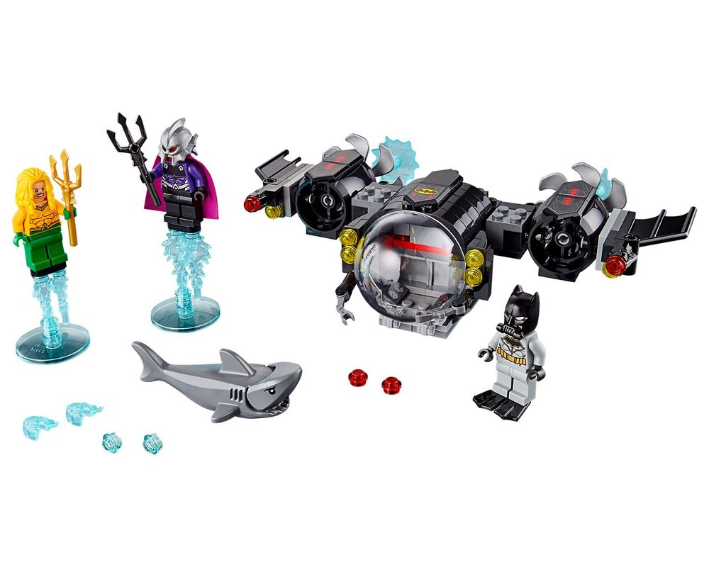 LEGO Set 76116-1 Batman Batsub and the Underwater Clash (Model - A-Model)