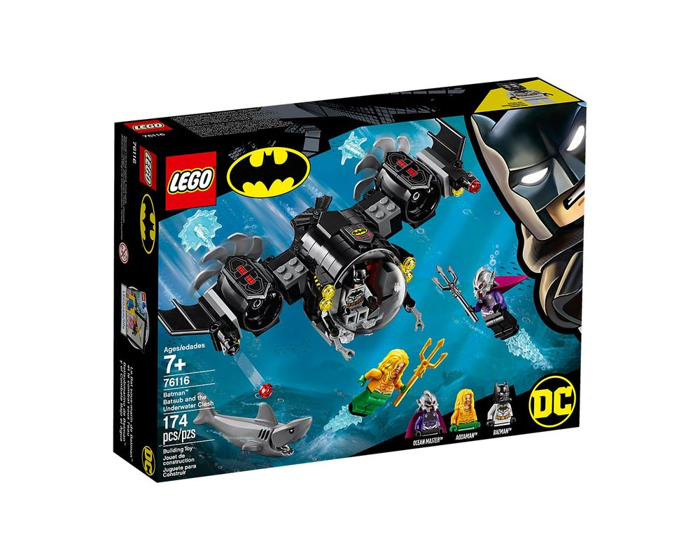 LEGO Set 76116-1 Batman Batsub and the Underwater Clash
