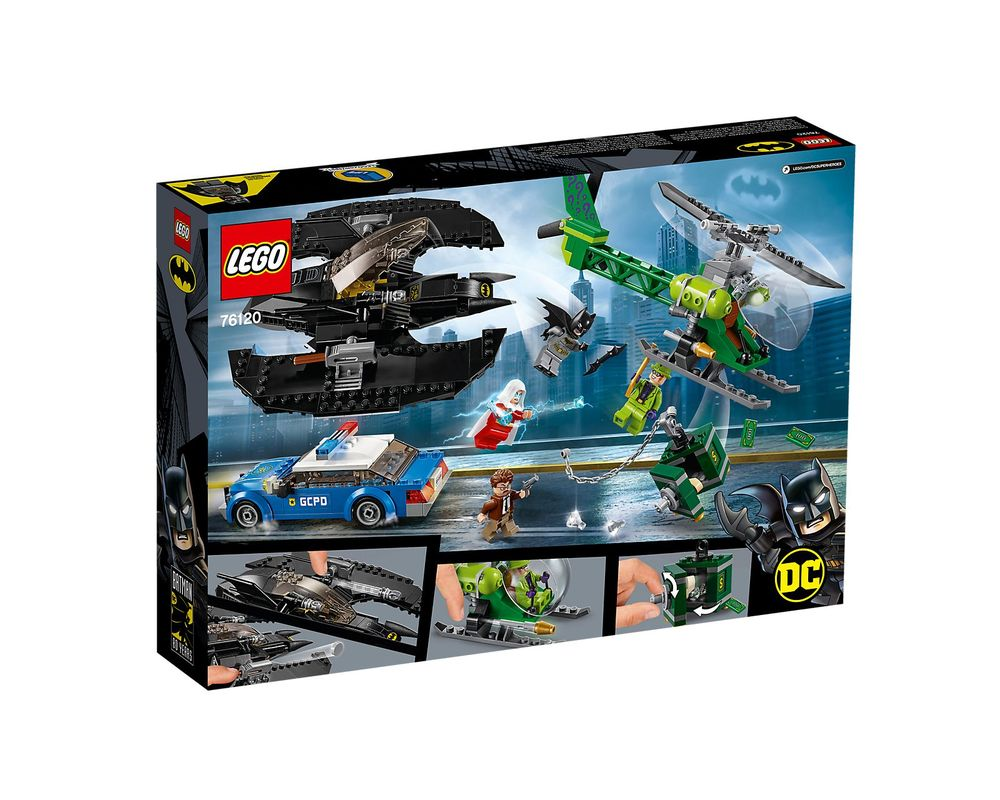 LEGO Set 76120-1 Batman Batwing and The Riddler Heist