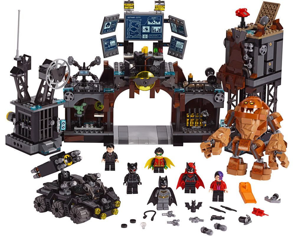 LEGO Set 76122-1 Batcave Clayface Invasion (Model - A-Model)