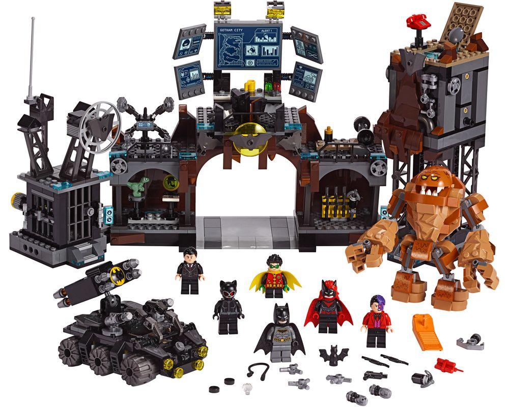 LEGO Set 76122-1 Batcave Clayface Invasion (LEGO - Model)