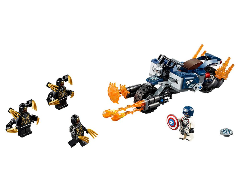 LEGO Set 76123-1 Captain America: Outriders Attack