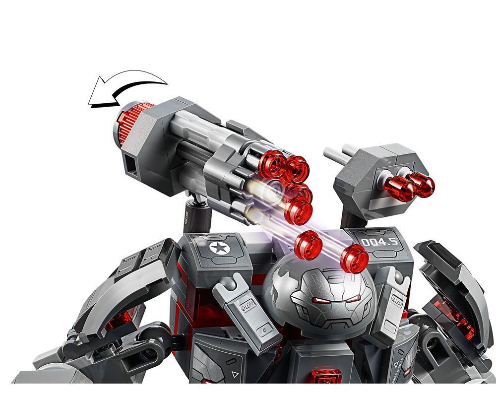 LEGO Set 76124-1 War Machine Buster