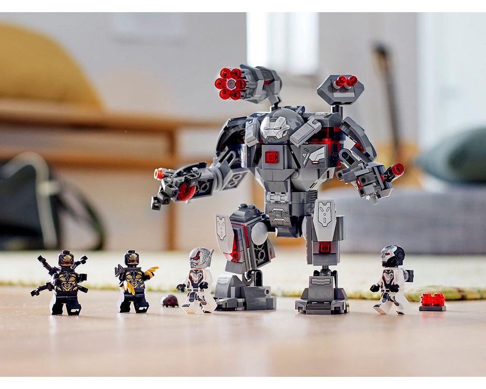 LEGO Set 76124-1 War Machine Buster (2019 Super Heroes > Avengers ...