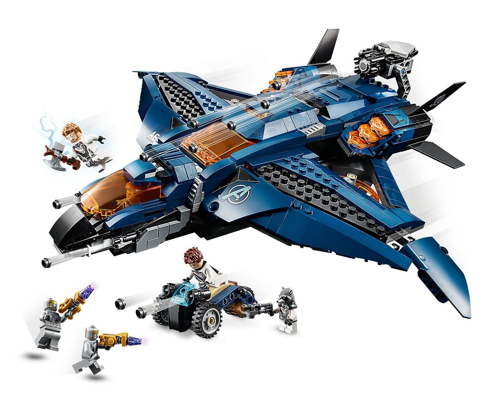 LEGO Set 76126-1 Avengers Ultimate Quinjet