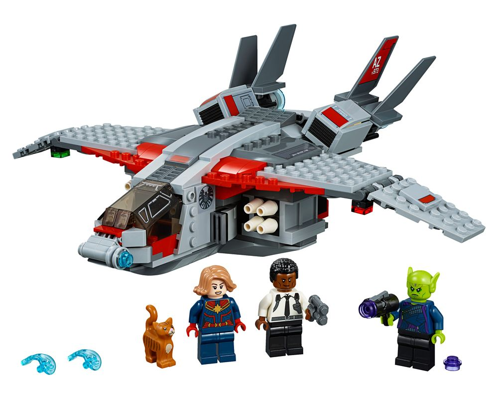 LEGO Set 76127-1 Captain Marvel and The Skrull Attack (Model - A-Model)