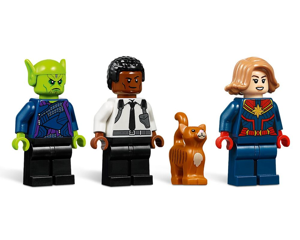 LEGO Set 76127-1 Captain Marvel and The Skrull Attack