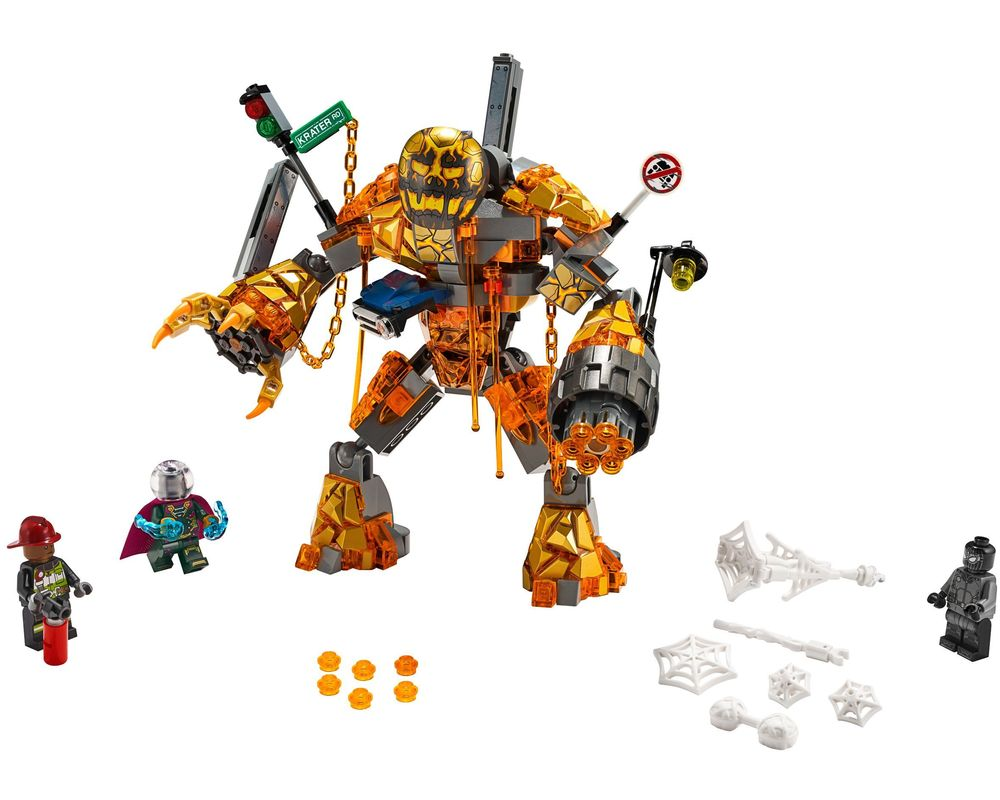 LEGO Set 76128-1 Molten Man Battle (LEGO - Model)