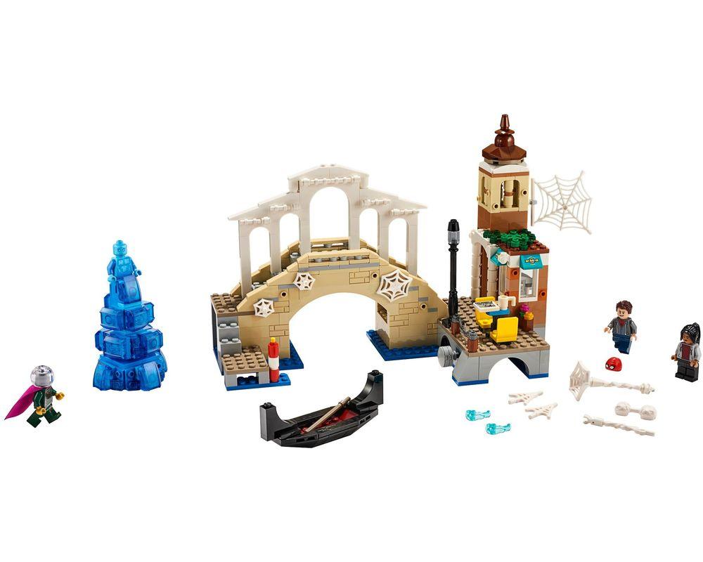 LEGO Set 76129-1 Hydro-Man Attack (LEGO - Model)
