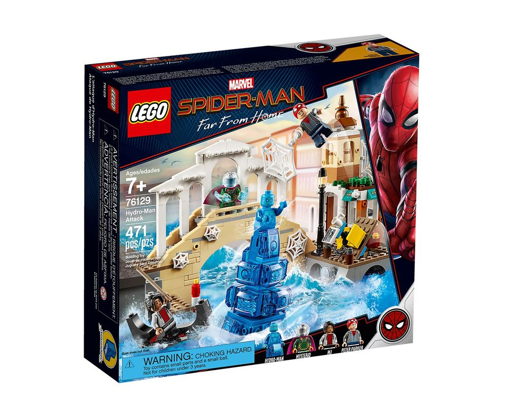 LEGO Set 76129-1 Hydro-Man Attack