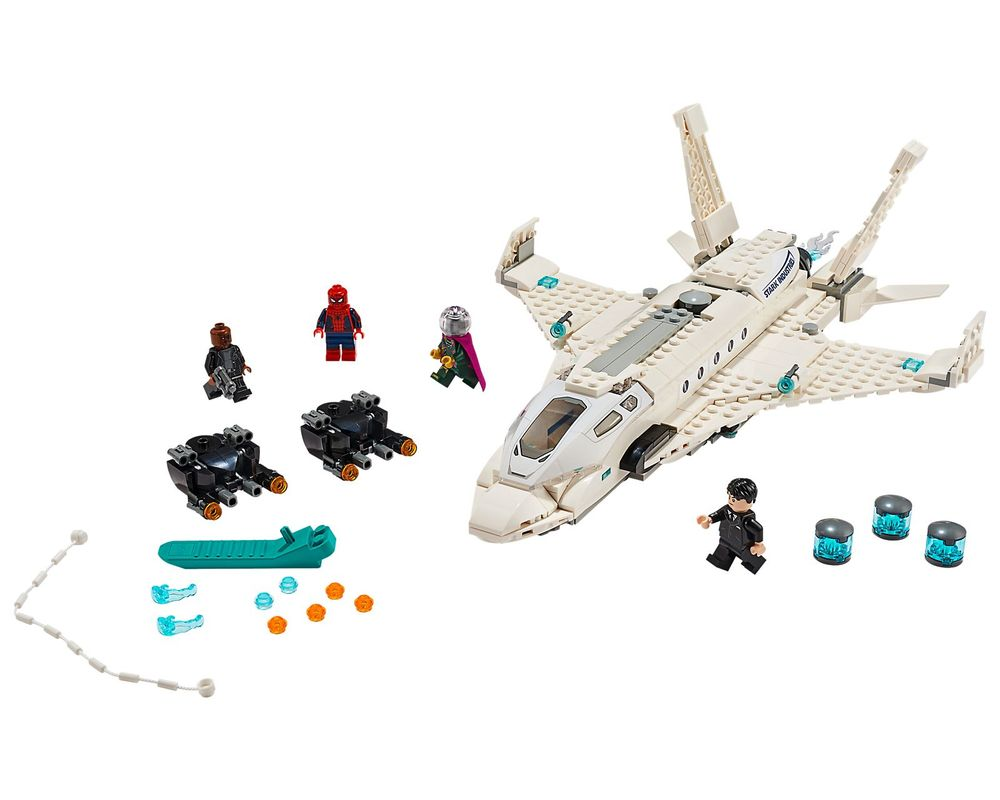 LEGO Set 76130-1 Stark Jet and the Drone Attack (Model - A-Model)
