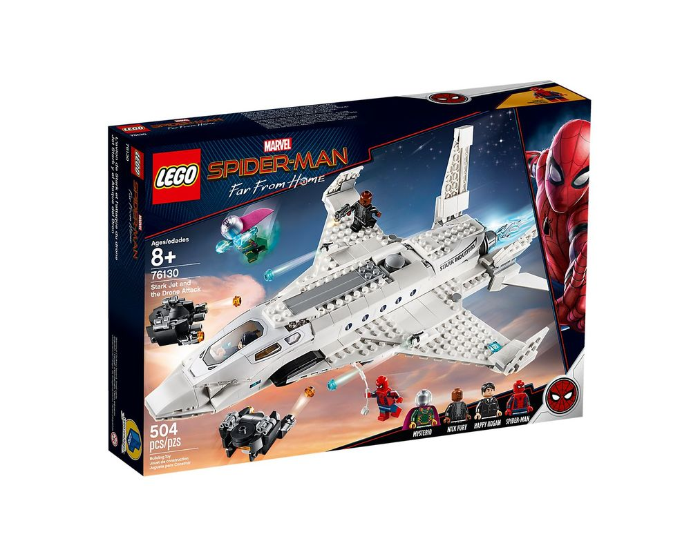 LEGO Set 76130-1 Stark Jet and the Drone Attack
