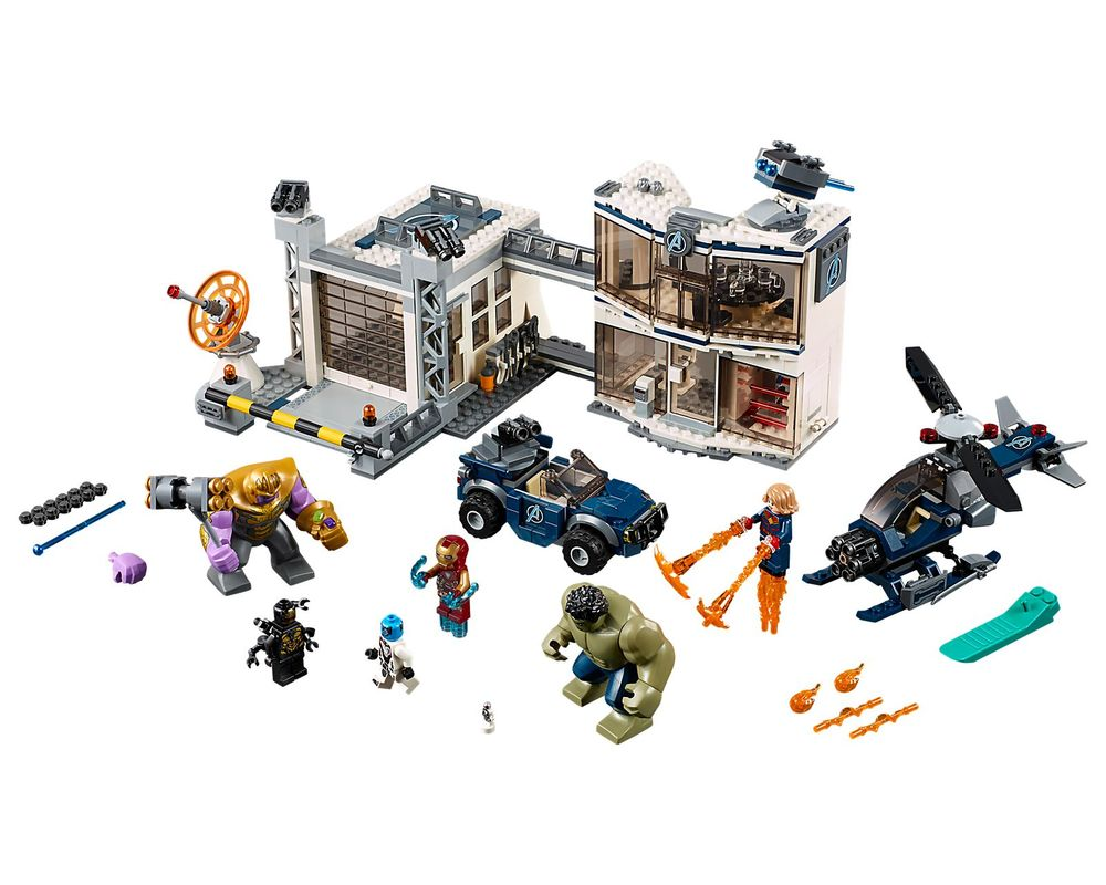 LEGO Set 76131-1 Avengers Compound Battle (Model - A-Model)