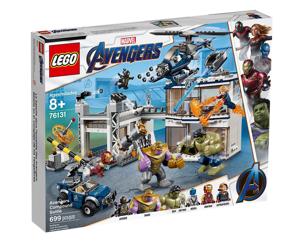 LEGO Set 76131-1 Avengers Compound Battle