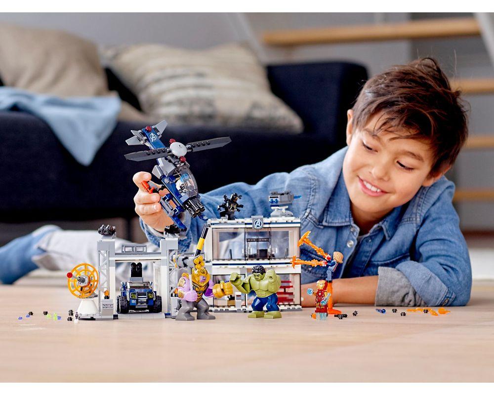 LEGO Set 76131-1 Avengers Compound Battle (2019 Super ...