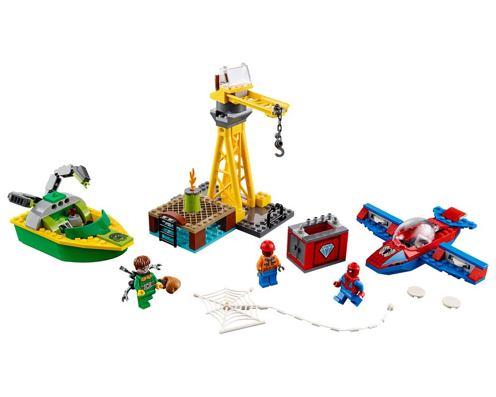LEGO Set 76134-1 Spider-Man: Doc Ock Diamond Heist (LEGO - Model)