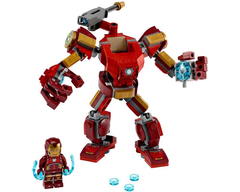 LEGO Set 76140-1 Iron Man Mech (LEGO - Model)