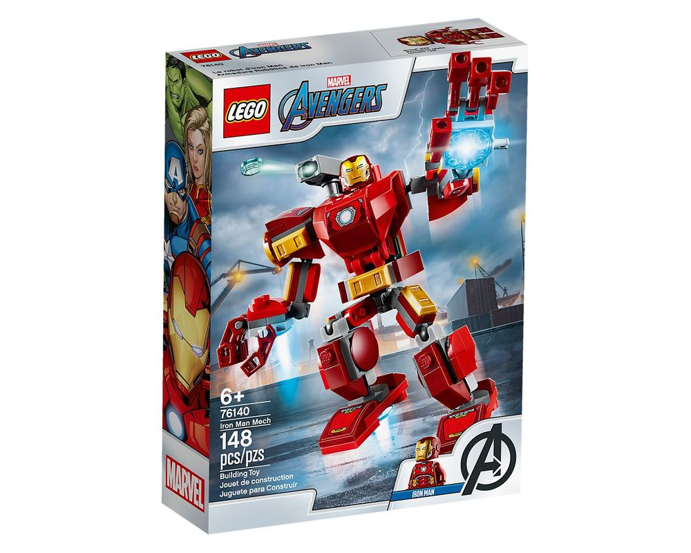LEGO Set 76140-1 Iron Man Mech