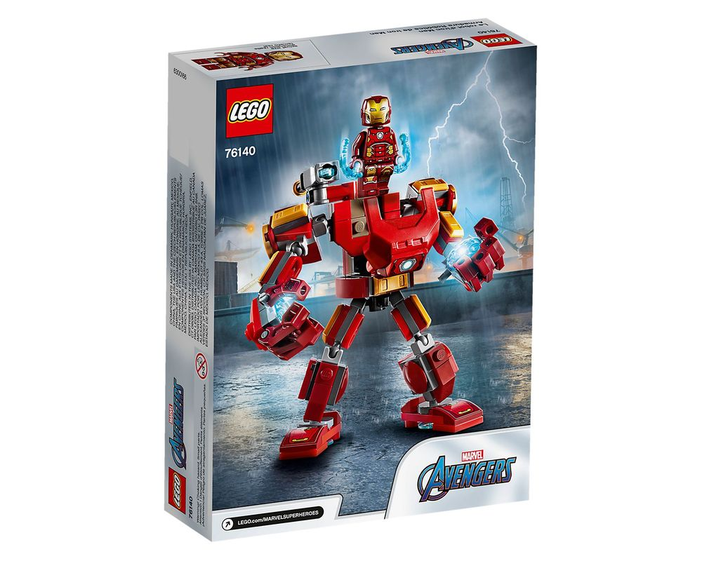 LEGO Set 76140-1 Iron Man Mech