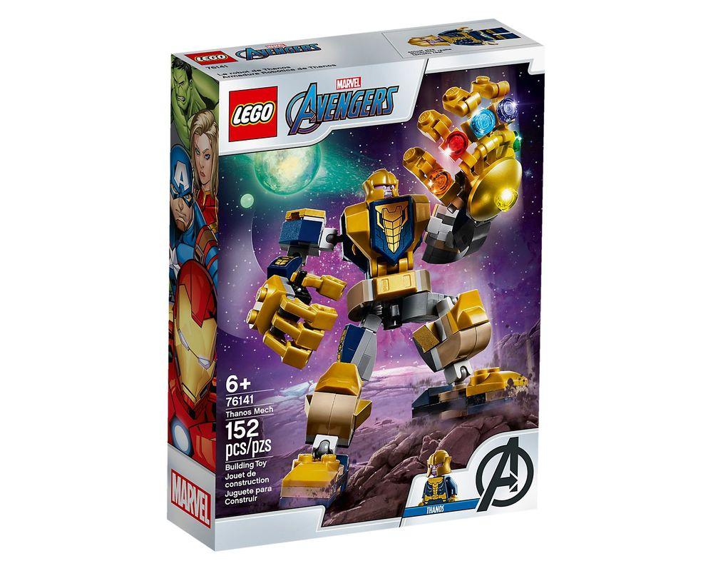 LEGO Set 76141-1 Thanos Mech (Box - Front)