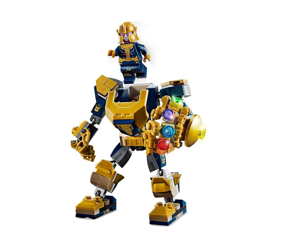 LEGO Set 76141-1 Thanos Mech (Model - A-Model)