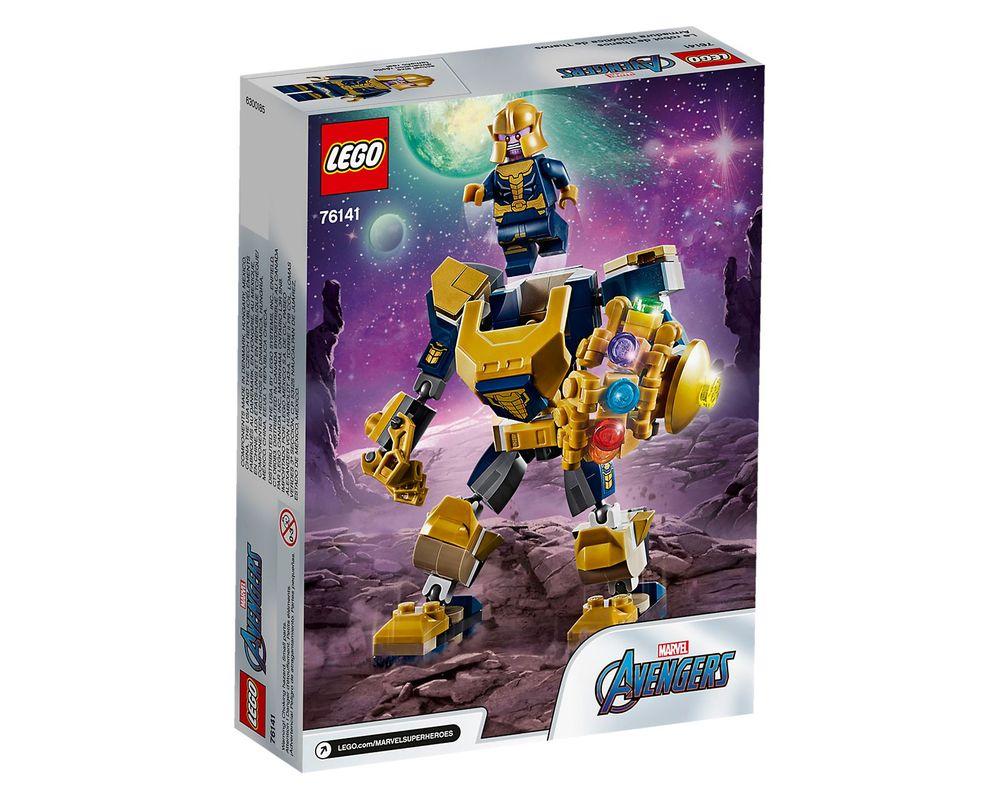 LEGO Set 76141-1 Thanos Mech (Box - Back)