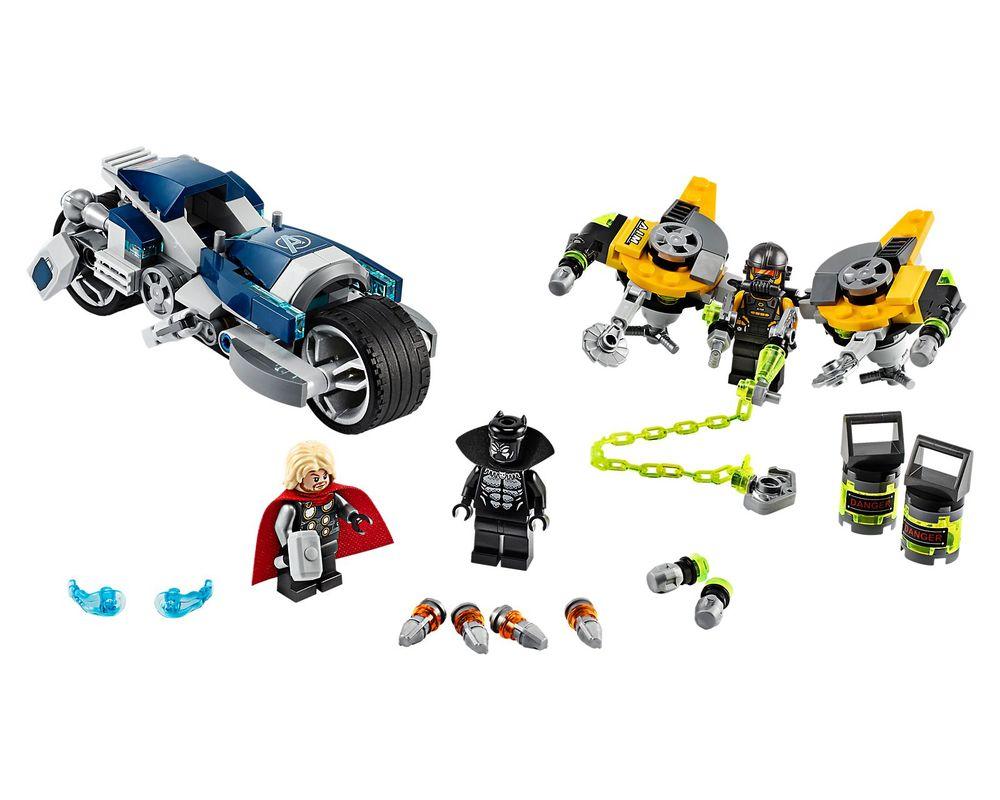LEGO Set 76142-1 Avengers Speeder Bike Attack (Model - A-Model)