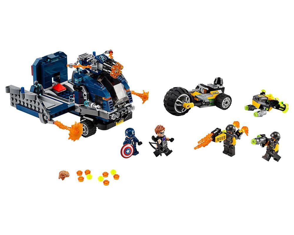 LEGO Set 76143-1 Avengers Truck Take-down (Model - A-Model)