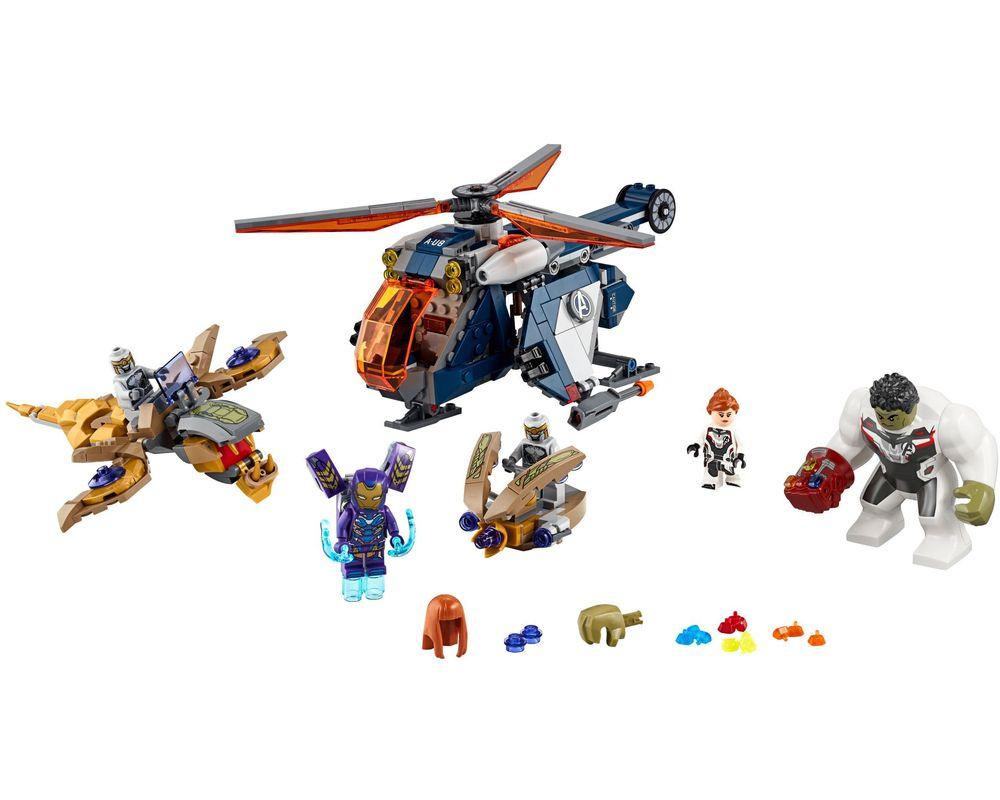 LEGO Set 76144-1 Avengers Hulk Helicopter Rescue (LEGO - Model)