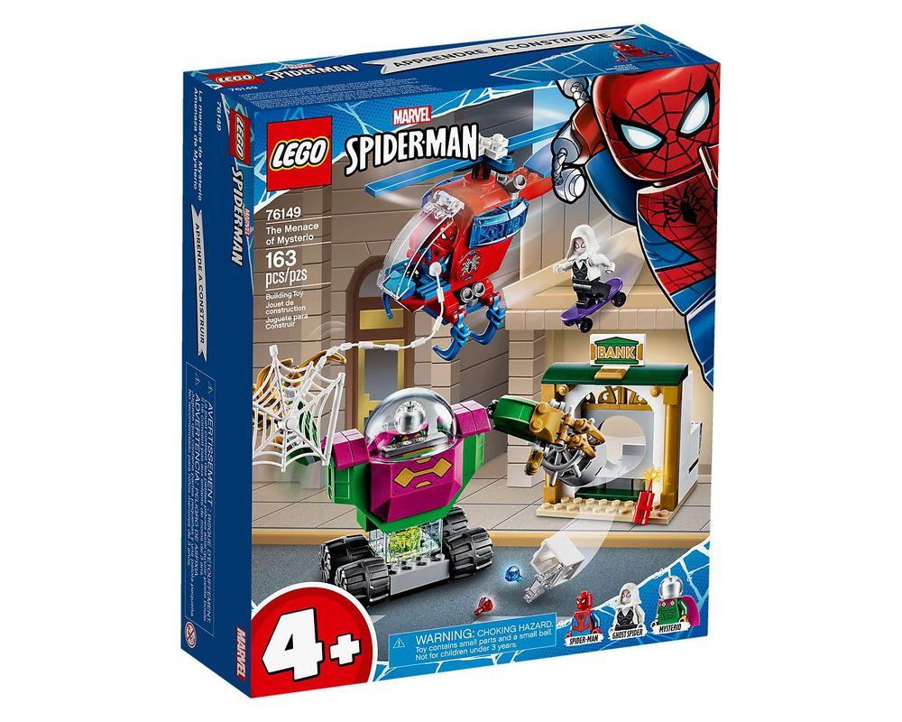 LEGO Set 76149-1 The Menace of Mysterio (LEGO - Box Front)