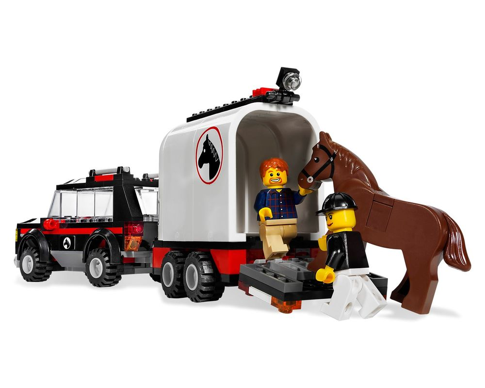 LEGO Set 7635-1 4WD with Horse Trailer
