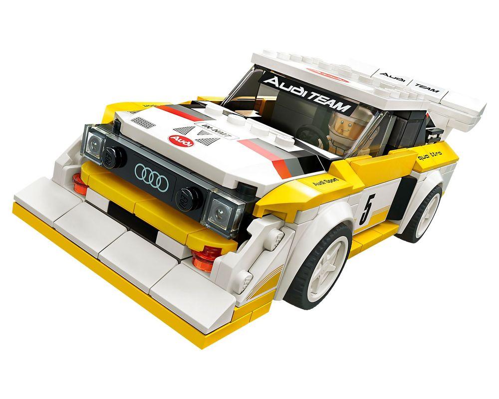 LEGO Set 76897-1 1985 Audi Sport quattro S1