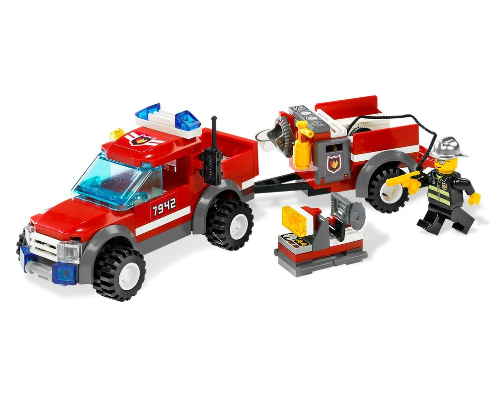 LEGO Set 7942-1 Off-Road Fire Rescue (LEGO - Model)