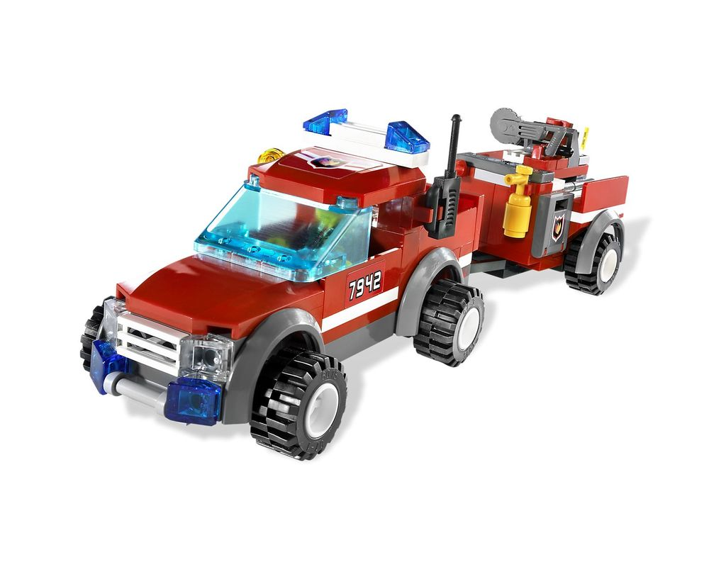 LEGO Set 7942-1 Off-Road Fire Rescue