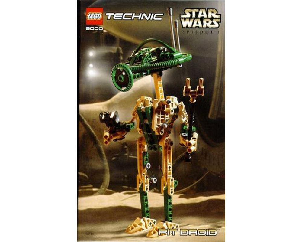 Lego Star Wars Pit Droid Technic 217 Pieces